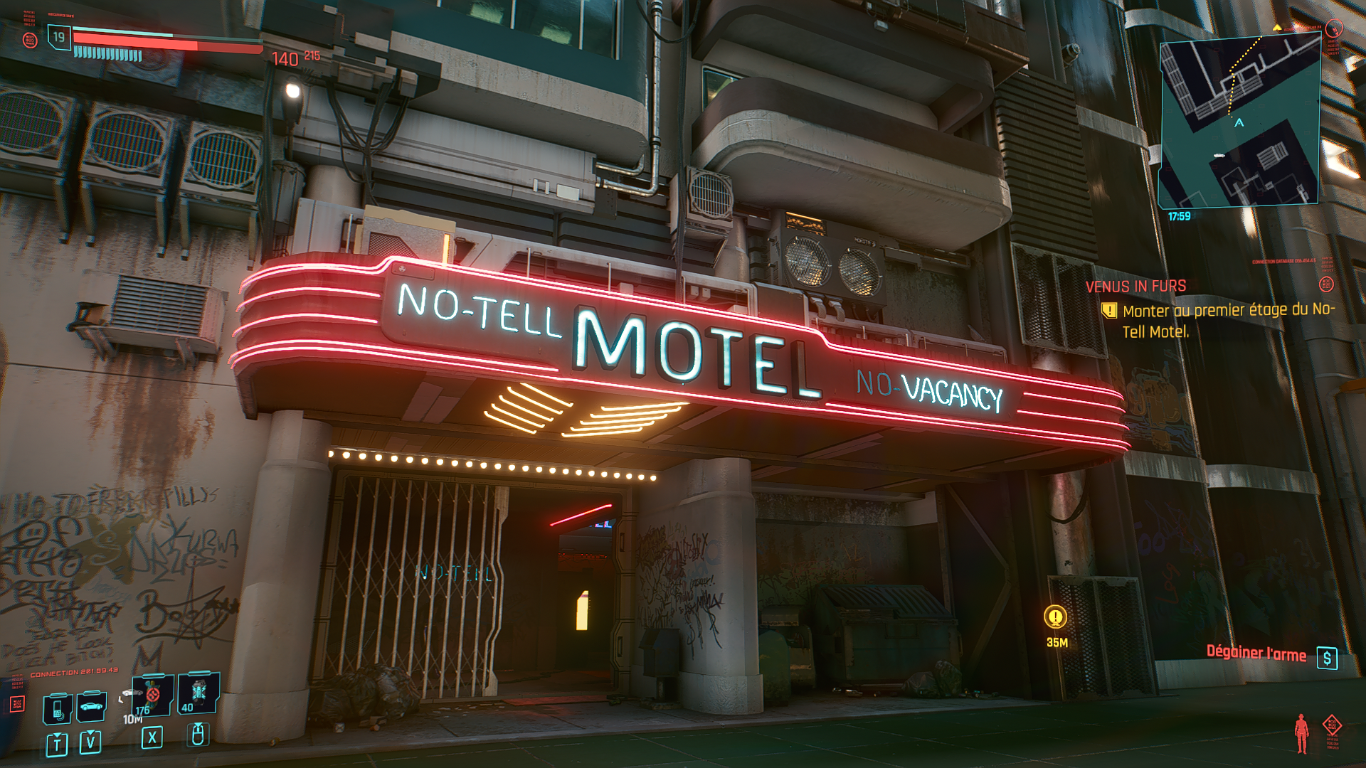 Cyberpunk 2077, quest Venus in fur: iconic weapon Sire Vergeraide, how to get it? Our guide (spoilers)