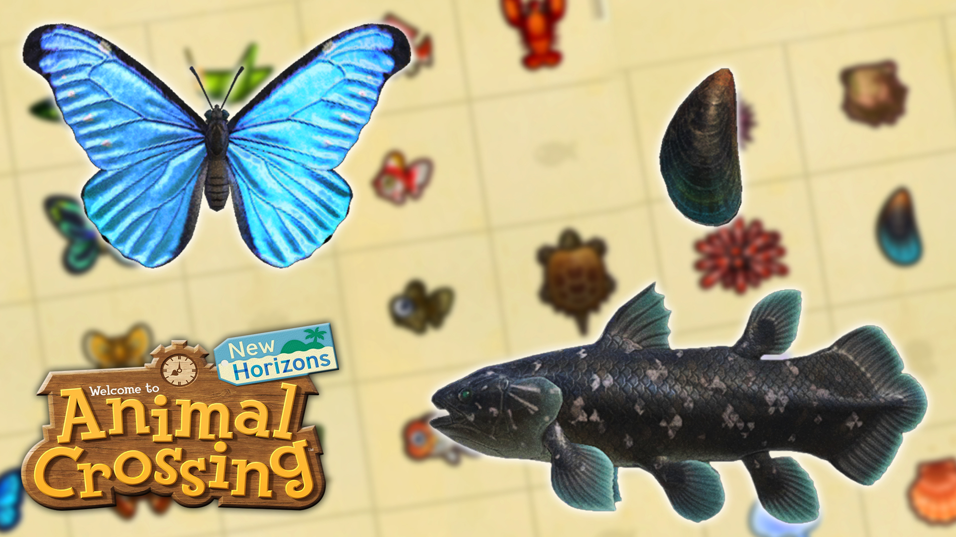 Animal Crossing New Horizons, January Changes: New Insects, Fish, and Sea Creatures, Our Guide
