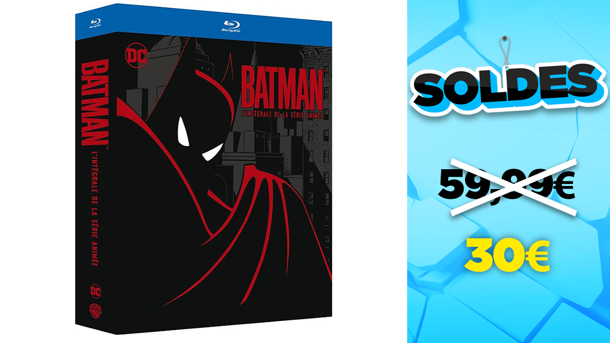 Blu-Ray sales: the complete Batman, the animated series in reduction at -50%
