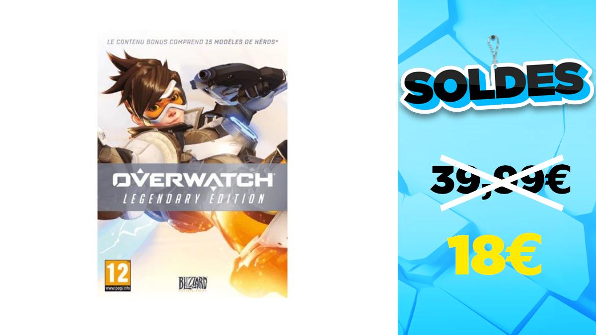 Winter sales 2021: -55% on Overwatch Legendary Edition