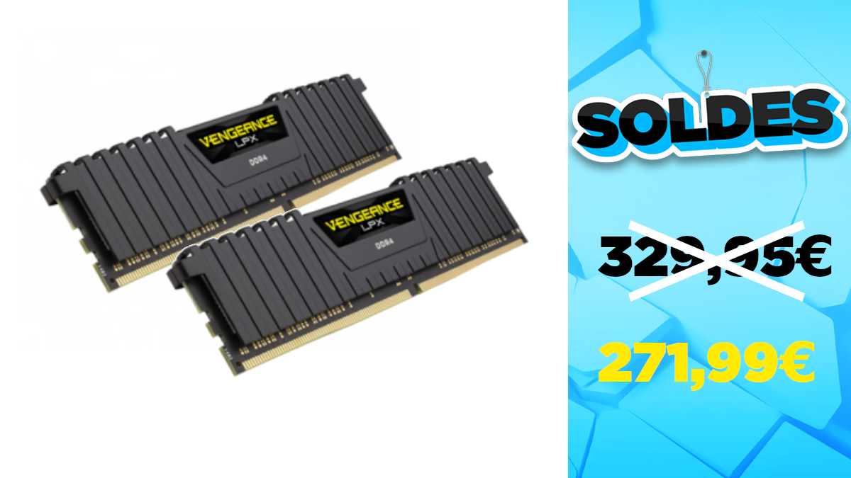 Winter sales 2021: Big reduction for a maximum of RAM (2 x 32 GB)