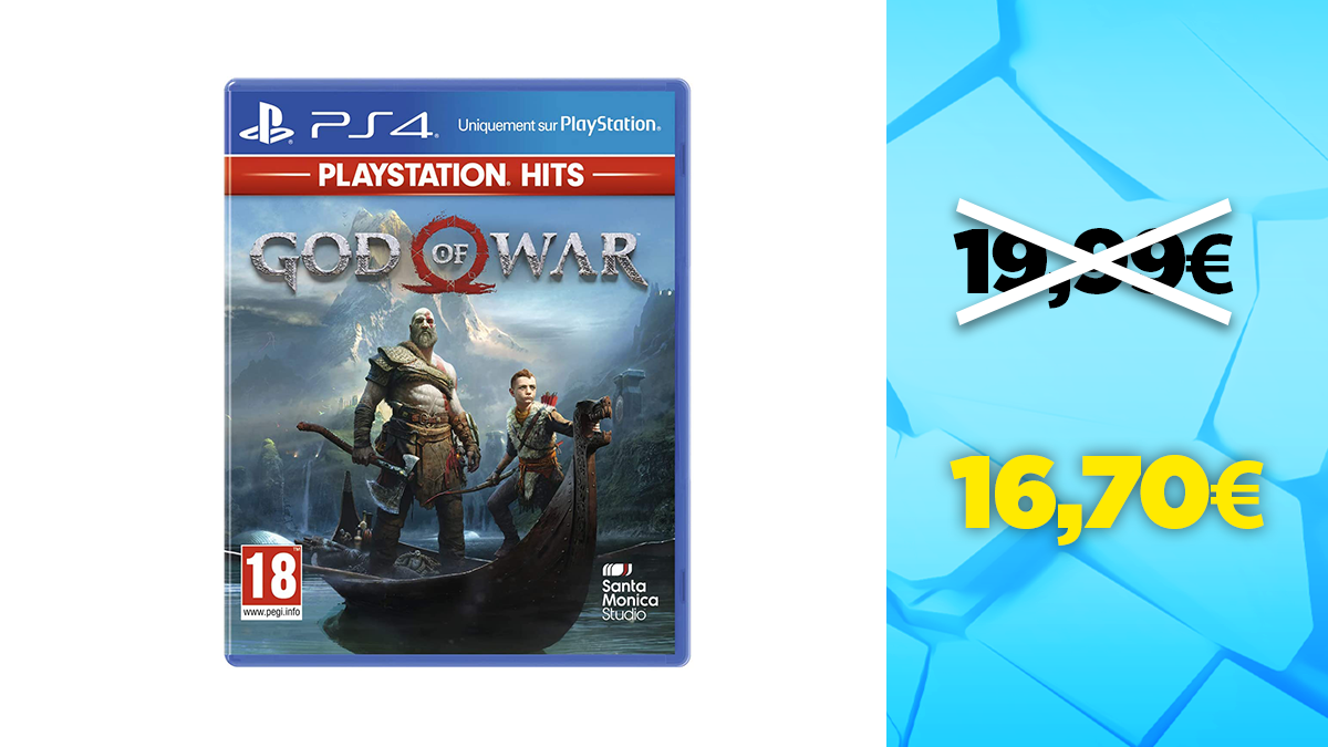 Good deal PS4: -16% on God of War