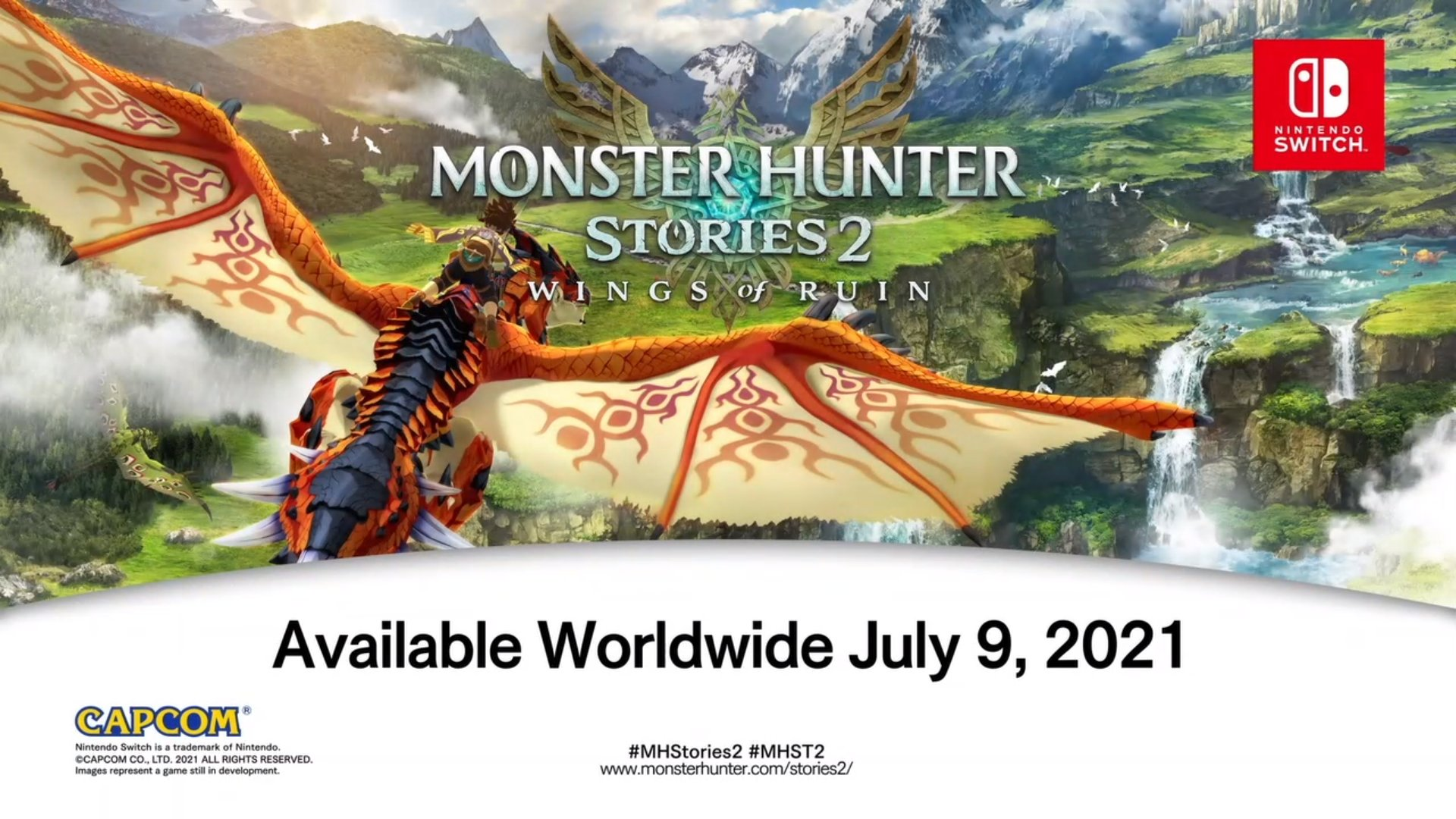 Monster Hunter Stories 2 Reveals Release Date, Coming To PC