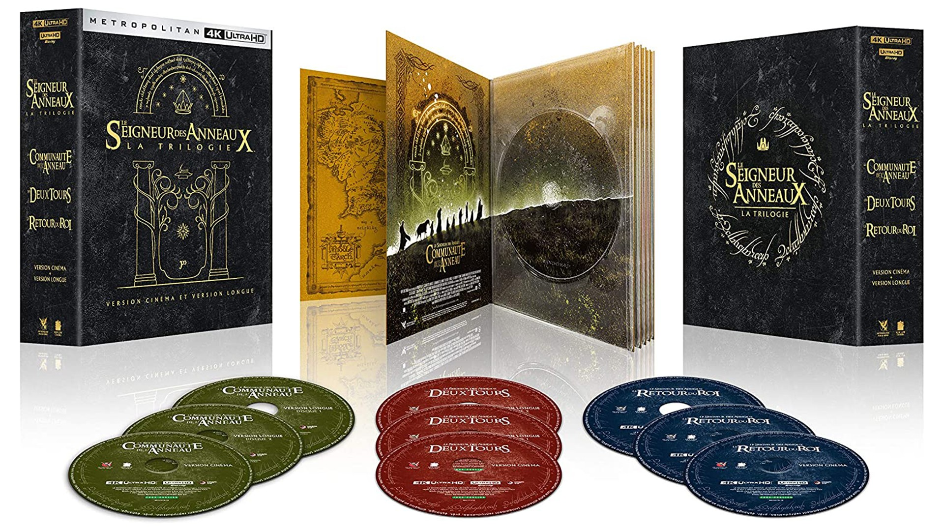 The Lord of the Rings: the anthology available in 4K blu-ray version