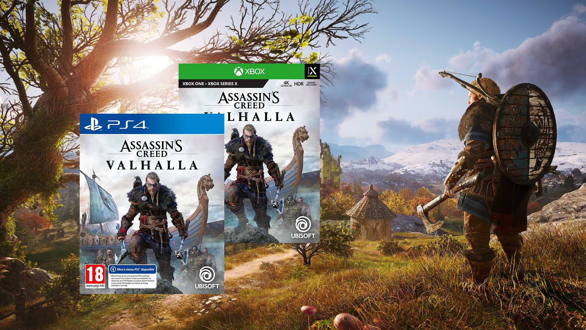 While waiting for Chivalry II: Assassin's Creed Valhalla on PS4 and Xbox Series X at -36%