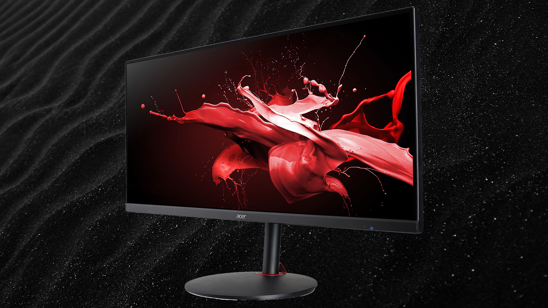 The Acer Nitro 34 QHD 144Hz 1ms PC screen in promotion