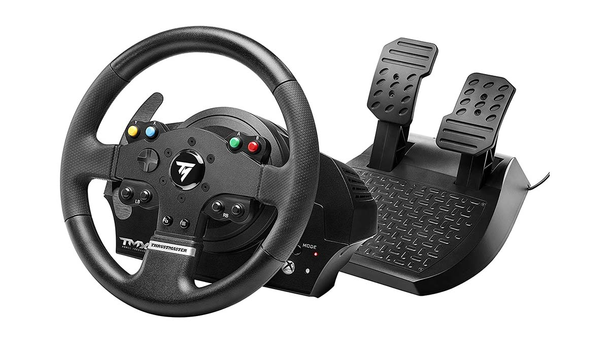 Thrustmaster TMX Force: Immerse yourself in the race with this gaming steering wheel During Gaming Week