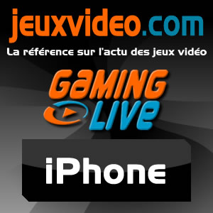 Gaming Live iPhone/iPod - JeuxVideo.com