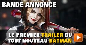 Le premier trailer du tout nouveau Batman