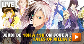 Jeudi De 18h à 19h on joue à :  Tales of Xillia 2