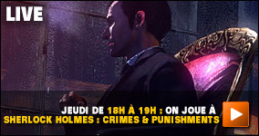 Jeudi, de 18h à 19h : on joue à Sherlock Holmes : Crimes & Punishments