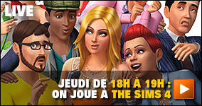 Jeudi, de 18h à 19h : on joue à The Sims 4