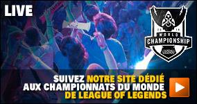 Suivez notre site dédié aux Championnats du Monde de League of Legends
