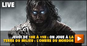 jeudi De 18h à 19h : on joue à La Terre du Milieu : L'Ombre du Mordor