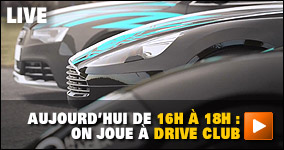 Mercredi De 16h à 18h : on joue à Drive Club