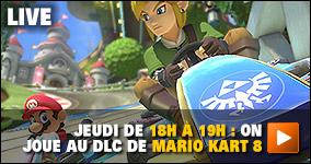 jeudi de 18h à 19h : On joue à Mario Kart 8