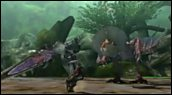 Bandes-annonces : Monster Hunter 4 - Ambiance et combats