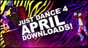 Bande-annonce : Just Dance 4 - Contenu d'avril